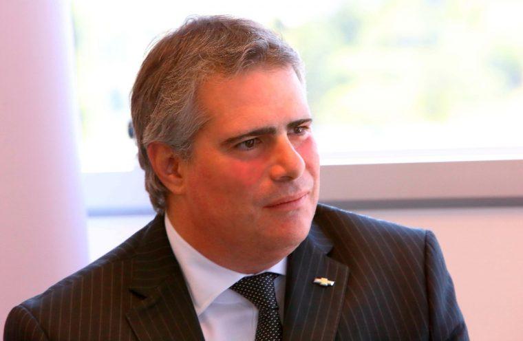 GM of Brazil President Carlos Zarlenga