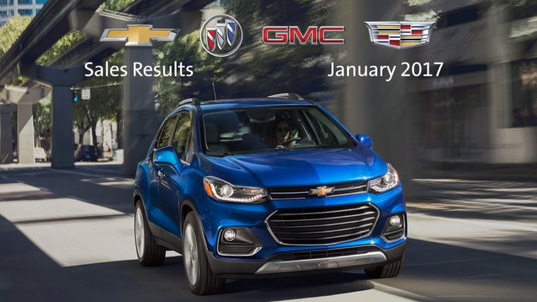 General Motors January 2017 sales