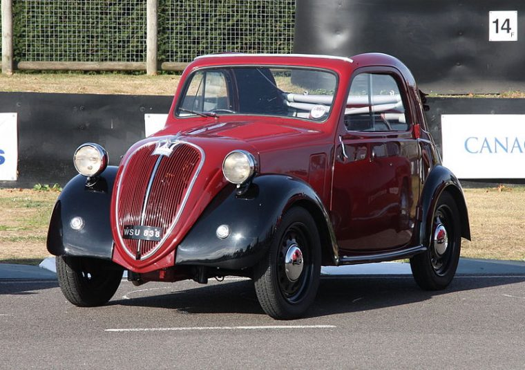 1937 Fiat 500 Topolino at the Geneva International Motor Show