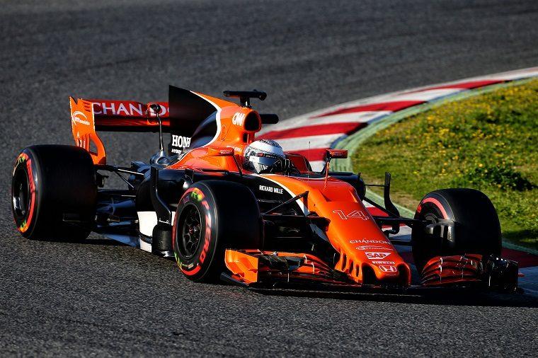 2017 F1 Pre-Season Week 1 - McLaren