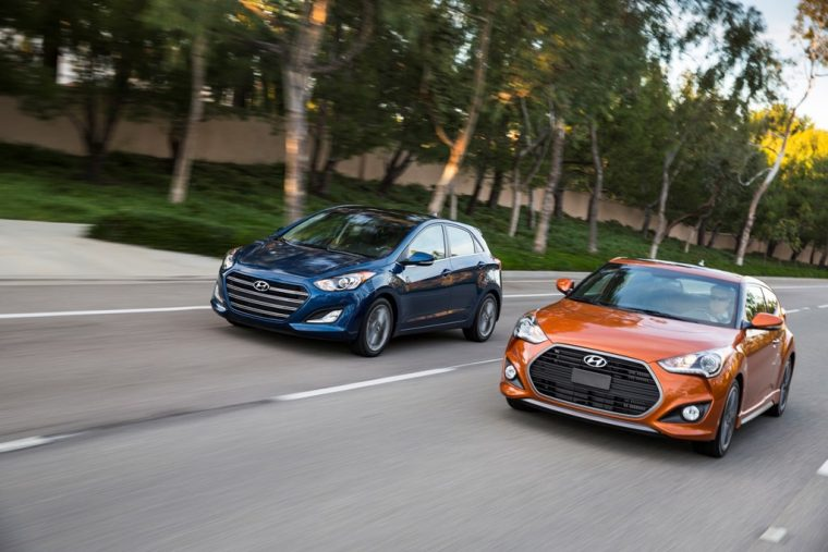2017 Hyundai Veloster Overview additions changes