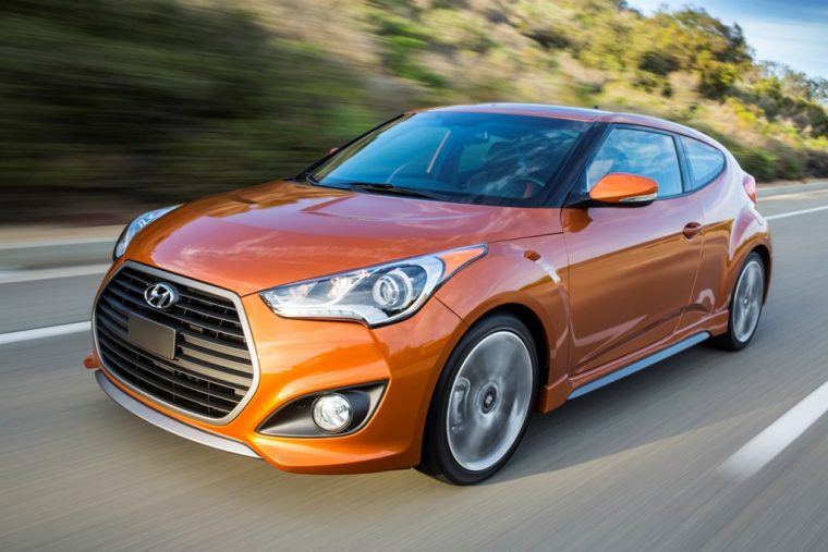 2017 Hyundai Veloster Turbo overview exterior design information body