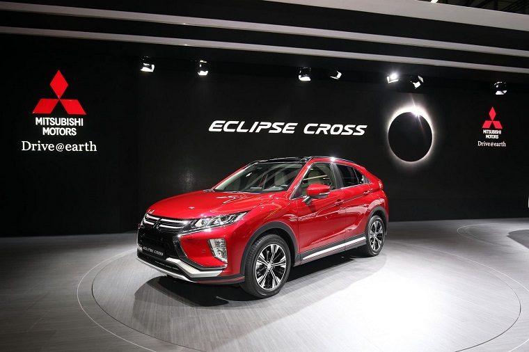 2018 Mitsubishi Eclipse Cross at Geneva