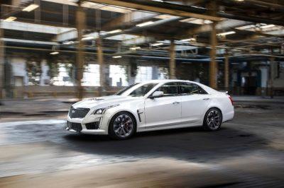 Cadillac showcased the CTS-V Carbon Black Edition in Geneva