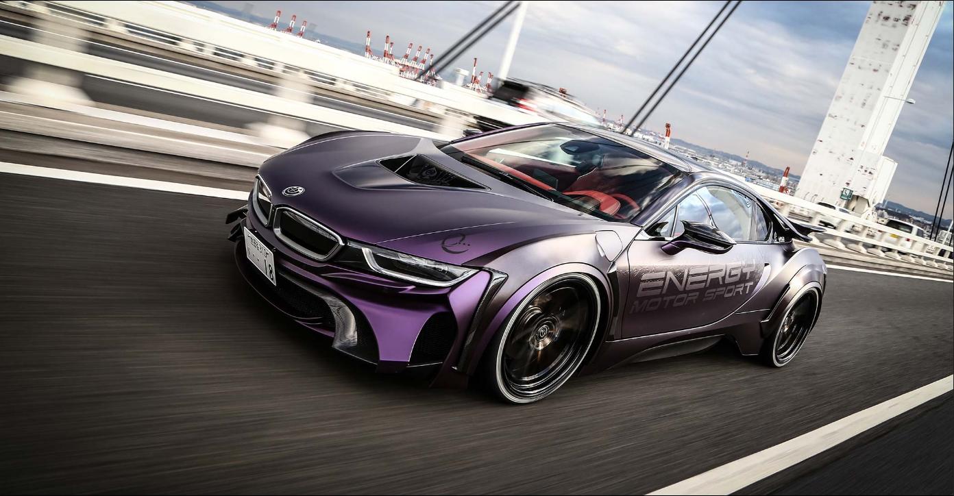 Energy Motor Sport Unveils Customized Dark Knight Edition Bmw I8 The News Wheel