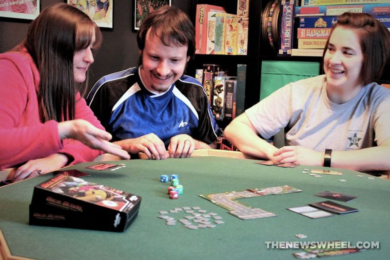 Dice Drivin car racing board game review Vorpalia play through experience