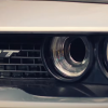 Dodge Demon SRT Grille and Headlight Close Up in Hey Ma Music Video