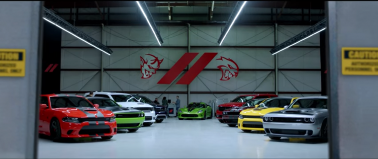 That's a lot of horsepower for one garage