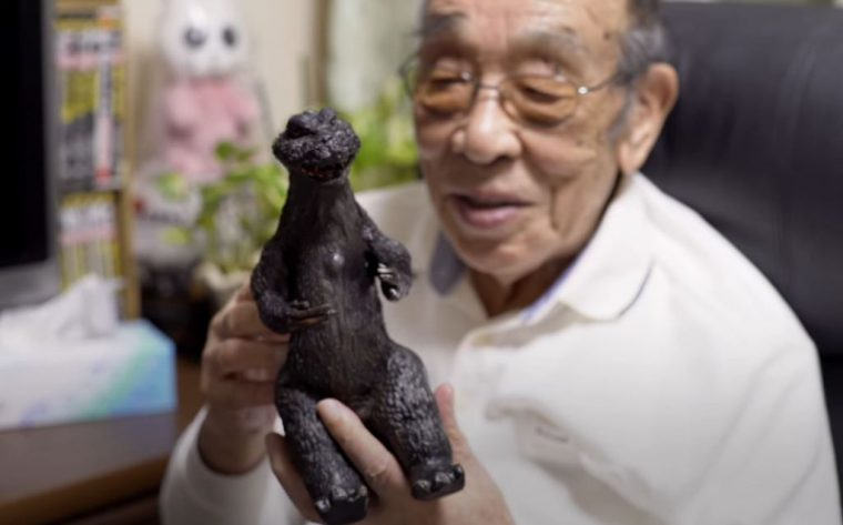 Haruo Nakajima Godzilla Genesis Great Big Story Origins video interview