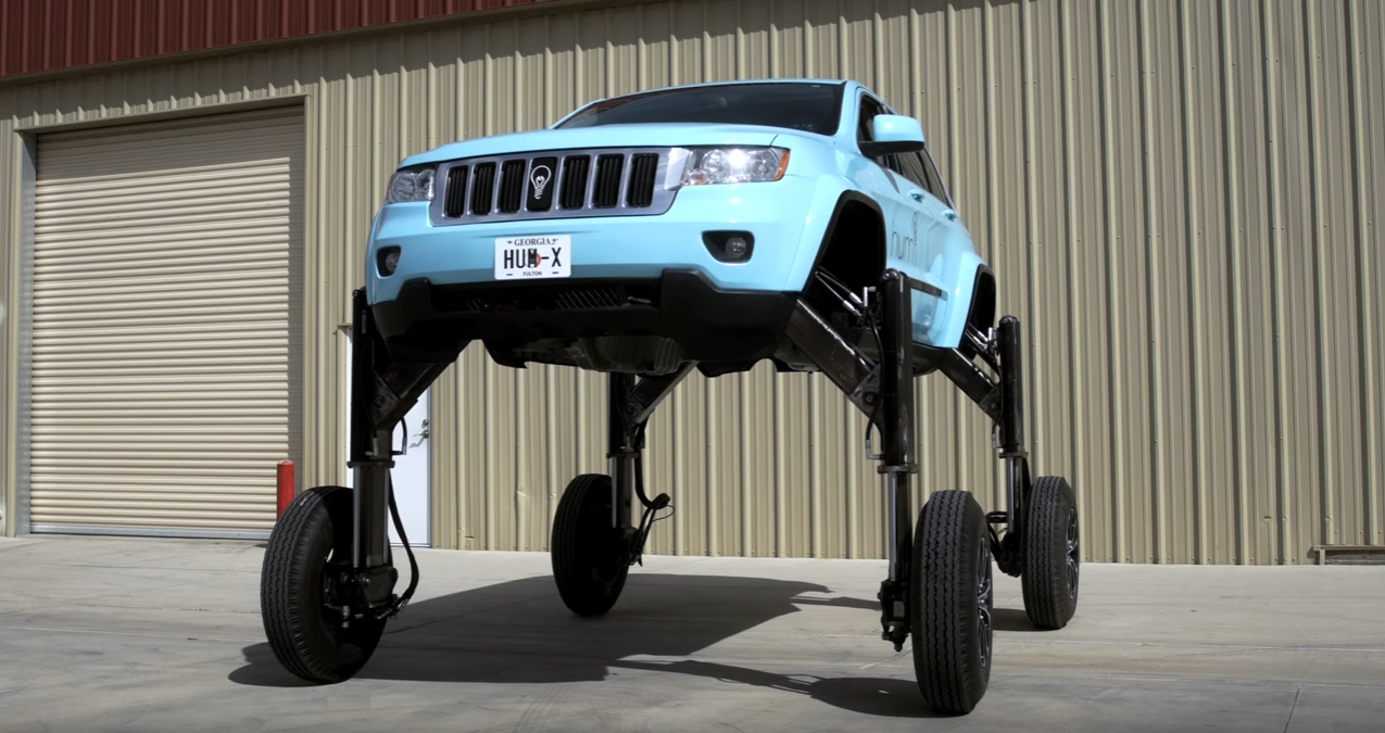 Hydraulic Powered Hum Rider Jeep Grand Cherokee Travels
