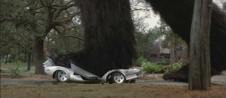 King Kong Lives movie luxury car foot stomp