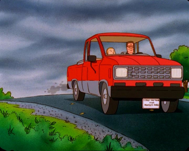 King of the Hill Hank Hill 1993 Ford Ranger