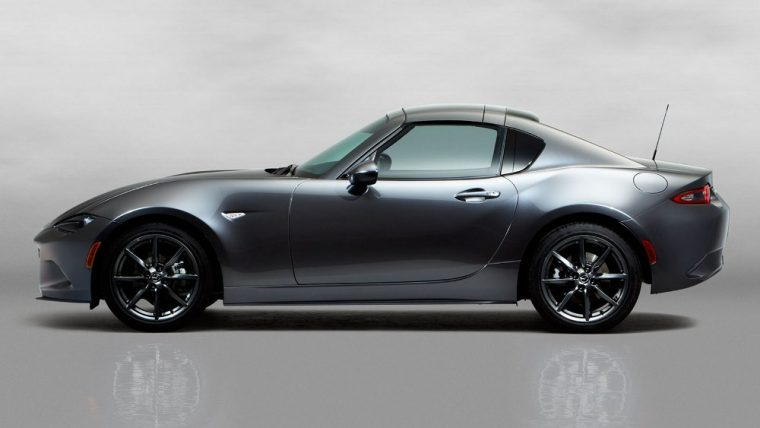 The 2017 Mazda MX-5 Miata RF Club carries a starting MSRP of $32,285