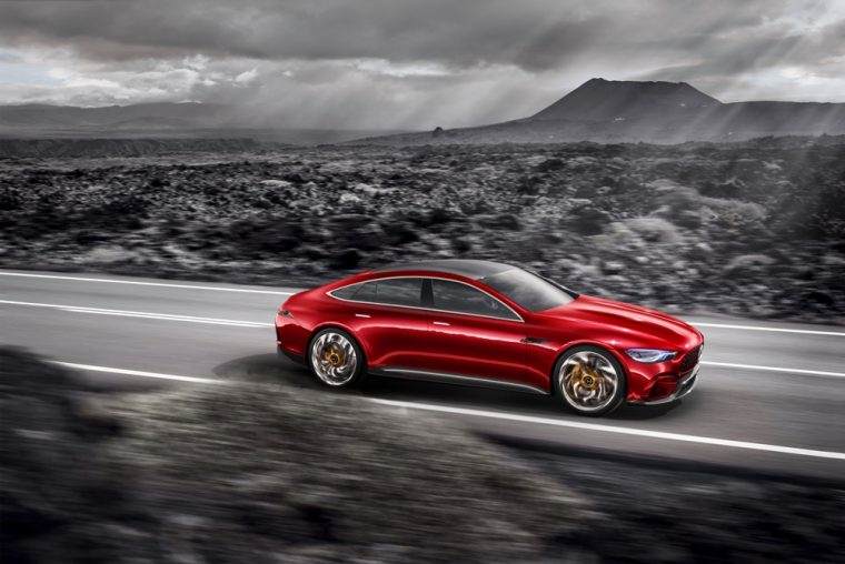 The Mercedes-AMG GT Concept is one of the exciting vehicles that the German automaker is bringing to the New York International Auto Show