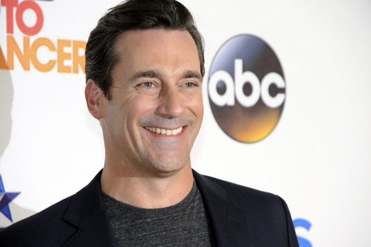 Jon Hamm at the New York Auto Show