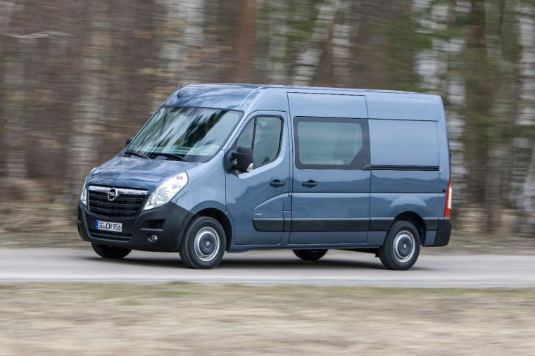 Opel Movano Navi 80 IntelliLink