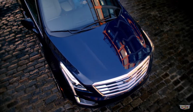 Screenshot from new Cadillac XT5 commercial