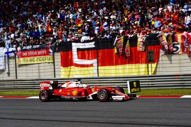 Sebastian Vettel @ 2016 Chinese Grand Prix