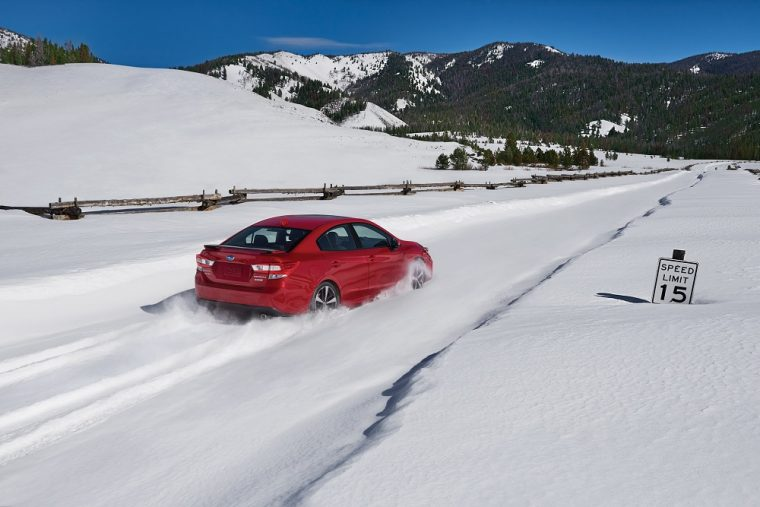 sedan or crossover, which is the better vehicle for driving in the snow?