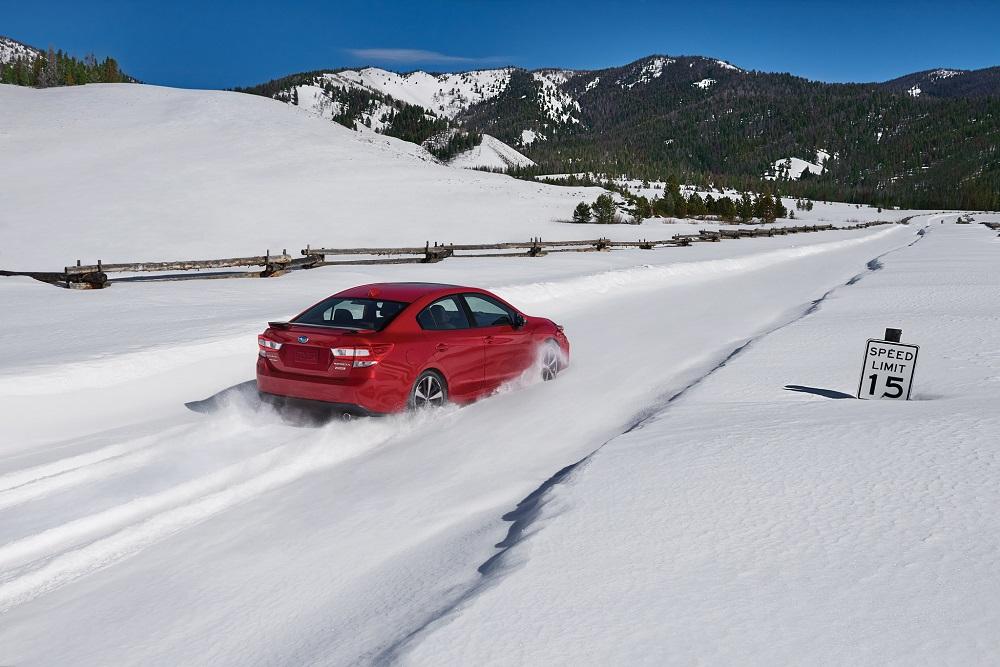 2017 Subaru Impreza with all-wheel drive at WinterFest Copper Mountain