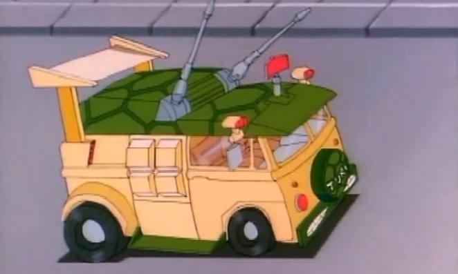 Teenage Mutant Ninja Turtles Party Wagon Turtle Van