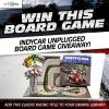 The New Wheel Giveaway INDYCAR Unplugged board game family fun racing win free post