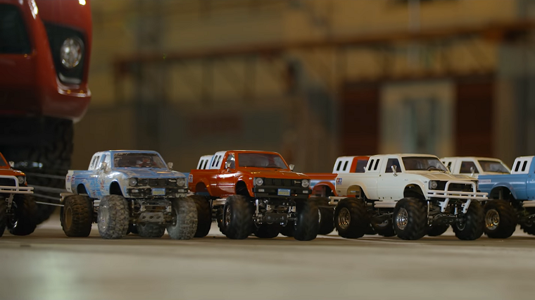 Rc Car News >> How Many Rc Cars Does It Take To Tow A Pickup Truck The