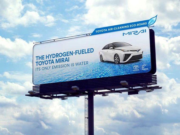 Toyota Mirai Eco Billboard