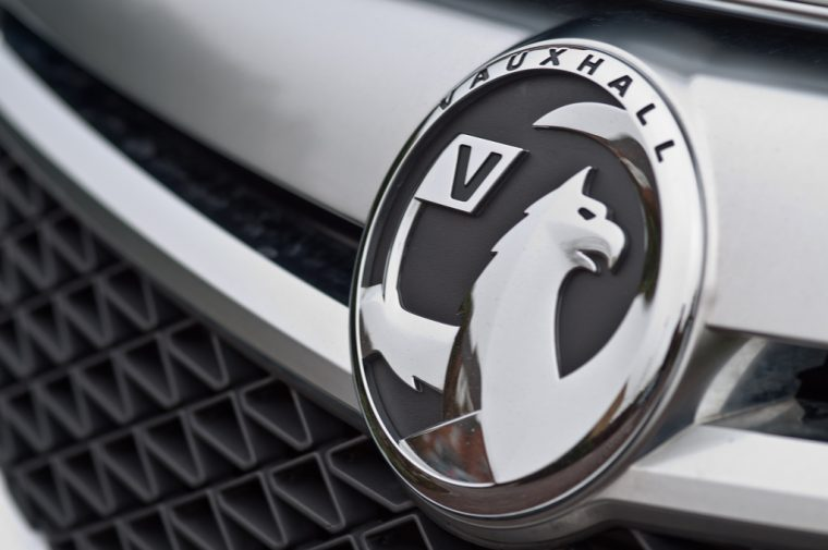 Vauxhall badge logo griffin grille design automaker history