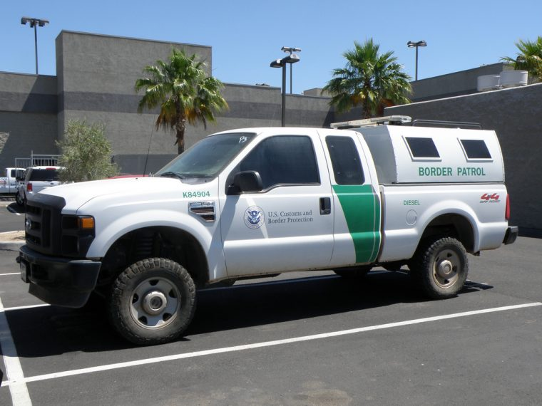 US Border Patrol truck