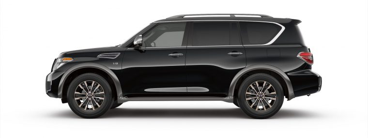 2017 Nissan Armada Earns Suv Of The Year Le