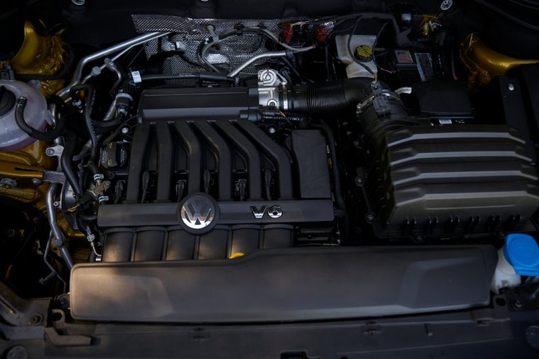 2018 Volkswagen Atlas engine