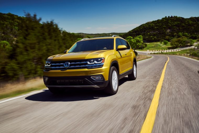 2018 Volkswagen Atlas price