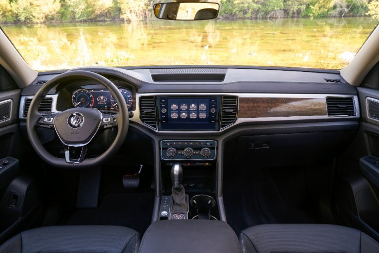 2018 Volkswagen Atlas interior