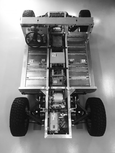 Bollinger electric truck/SUV chassis