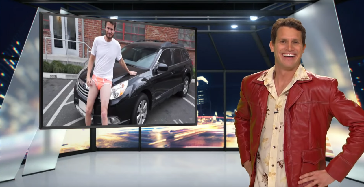 Car Giveaway 2017 >> Daniel Tosh is Not Afraid to Share His Subaru Love in ...