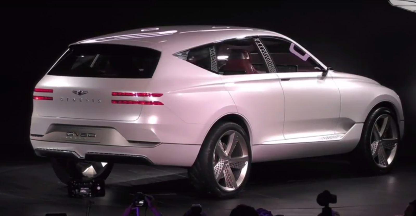 Leaked Photos Show New Genesis Gv80 Luxury Suv The News Wheel