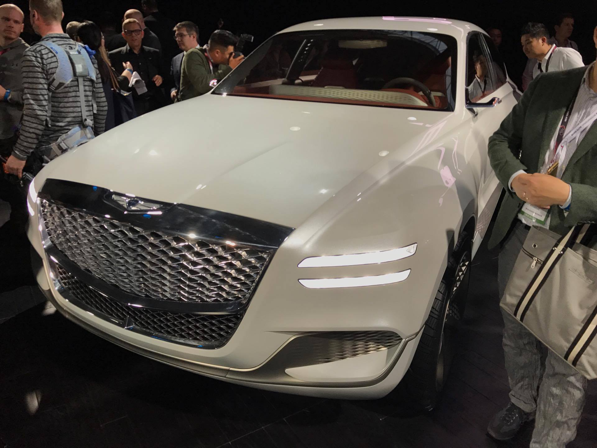 Javits Center Car Show >> New York Auto Show News: Genesis Enters SUV Territory with ...