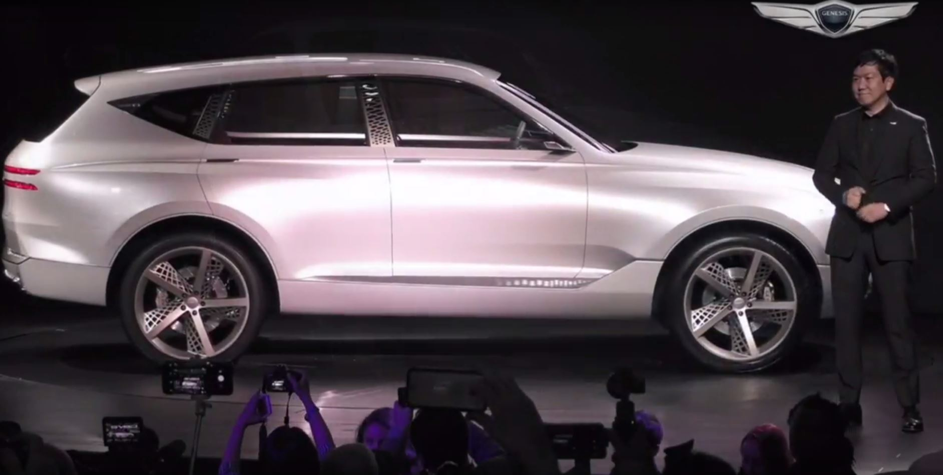 New York Auto Show News: Genesis Enters SUV Territory with ...