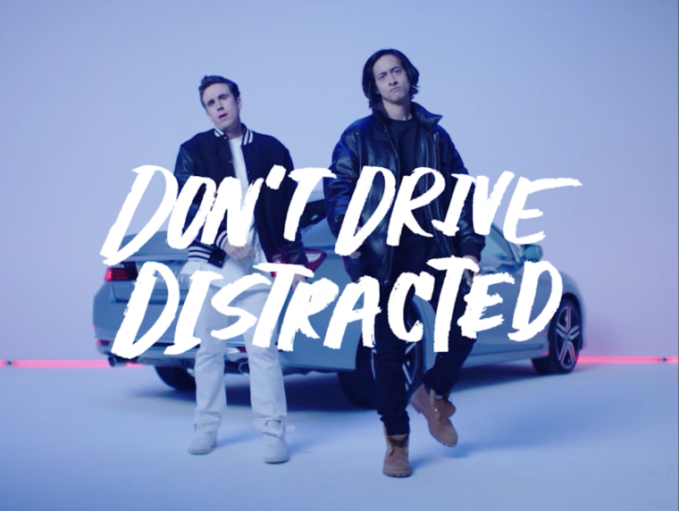 Honda introduces The DT, or The Designated Texter for Distracted Driving Month in April