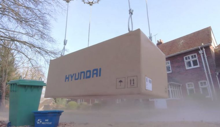 Hyundai Click to Fly drone delivery service commercial April Fools Prank