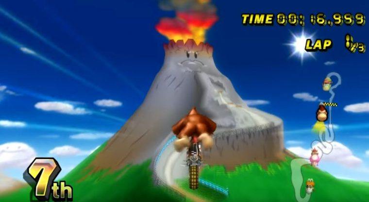 Mario Kart Wii - GCN DK Mountain