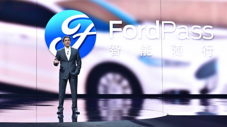 Mark Fields introduces FordPass