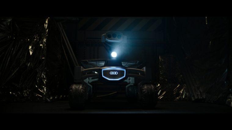 Moonrover Audi lunar quattro
