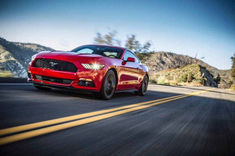 2017 Ford Mustang in North America