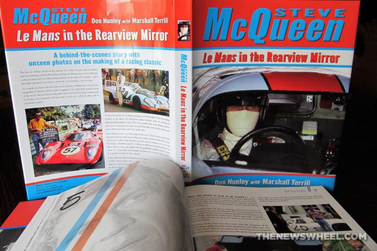 Steve McQueen Le Mans in the Rearview Mirror Book Reivew Dalton Watson Nunley Terrill