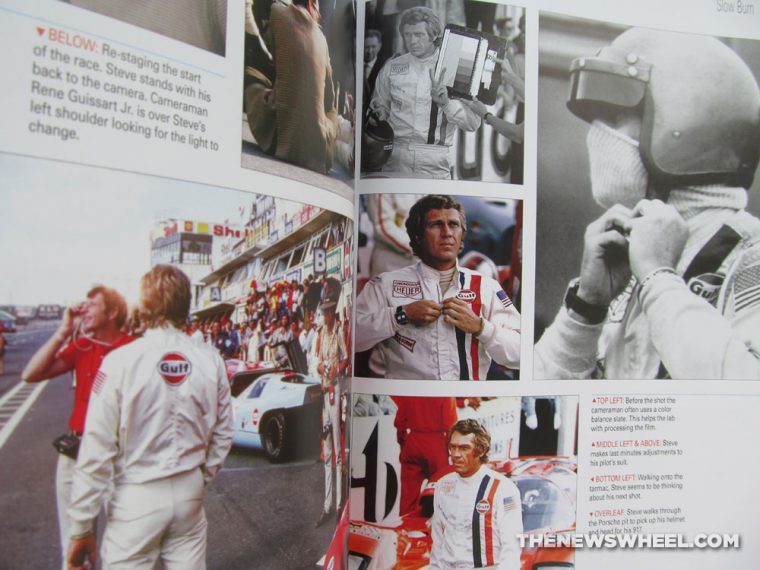 Steve McQueen Le Mans in the Rearview Mirror Book Reivew Dalton Watson Nunley Terrill movie pictures