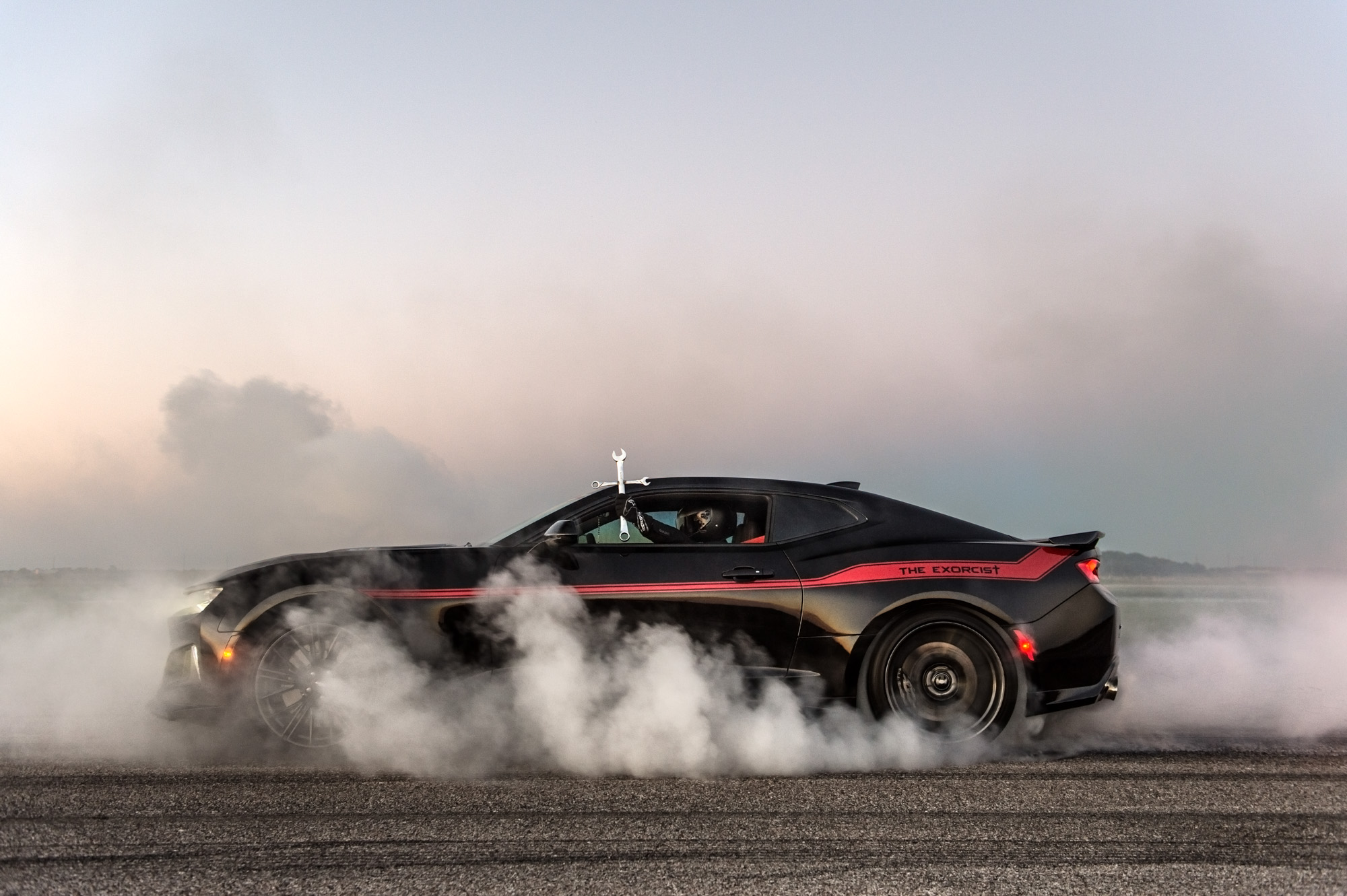 Hennessey Performance Unveils The Exorcist Camaro Zl1