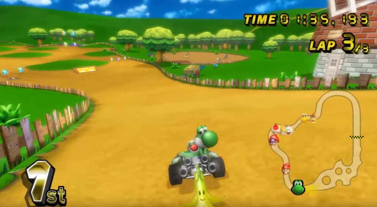 mario kart ds tracks ranked