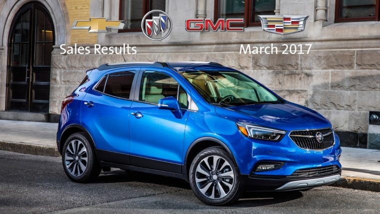 General Motors March Sales